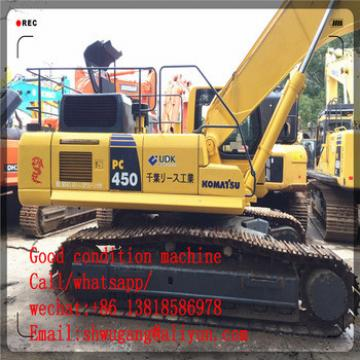Good quality used komatsu excavator pc450-8 for sale/ komatsu excavator with low price,used komatsu excavator pc450-7 pc450-8