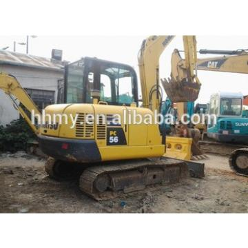 used pc56 excavator Japan pc120,pc200,pc360 for sale