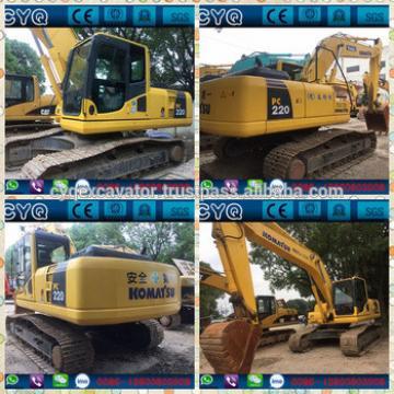 Used Komatsu PC220--8 crawler excavator/Komatsu PC200,PC300,PC400,PC360,PC450 excavators for sale (whatsapp: 0086-15800802908)