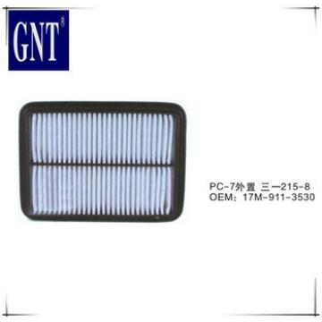 low price air conditioner filter PC200-7 excavator parts