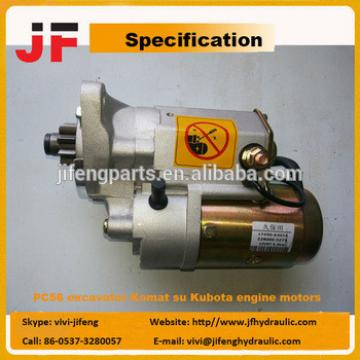 PC56 excavator Komat su Kubota engine motors