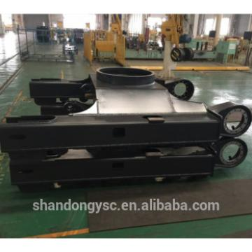 100% brand new up and below track frame for excavator PC50UU-2/ PC55MR-2/PC60-7/PC75/PC100/ PC120/PC130/
