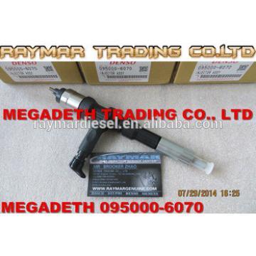 DENSO fuel injector 095000-6070 for KOMATSU PC400-8, PC450-8