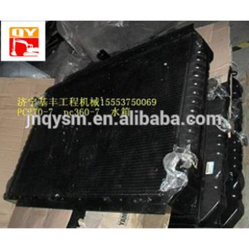 PC360-7 water tanks cooling radiator and oil cooler 207-03-71110 excavator hydraulic oil cooler
