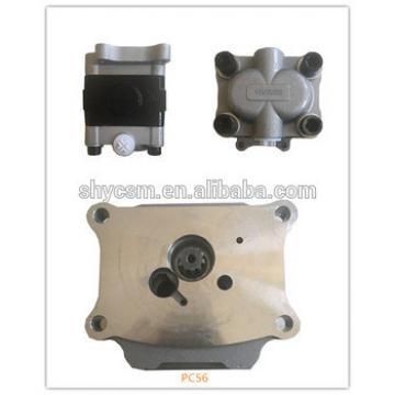hydraulic gear pump for Mini Excavator Komatsu PC55 PC56
