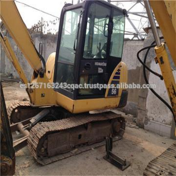 Used GOOD price komatsu mini excavator PC56/used komatsu pc56MR excavator/komatsu excavator PC56MR
