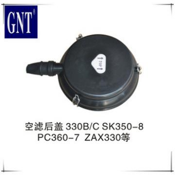 E330B E330C SK350-8 PC360-7 ZAXIS330 air filter assy head for excavator engine parts
