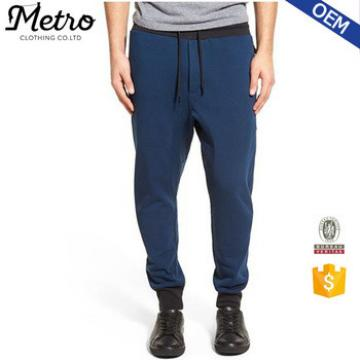 Cheap Wholesale Men's Navy French Terry Jogger Pants