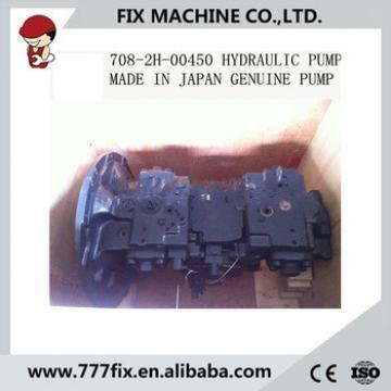 excavator pc400-8 pc450-8 main hydraulic pump 708-2H-00450