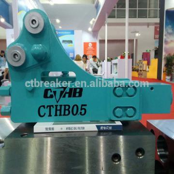 SB10 40mm chisel diameter hydraulic rock breaker for komas PC56-7 mini excavator