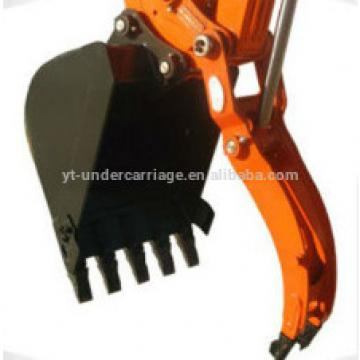 Excavator Pin on Thumb grab for Bucket Hydraulic cylinder