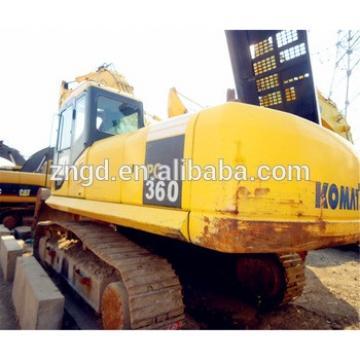 Original Japan made Used Komat PC360 Used PC360-7 PC300-6 PC400 PC450 Crawler Excavator