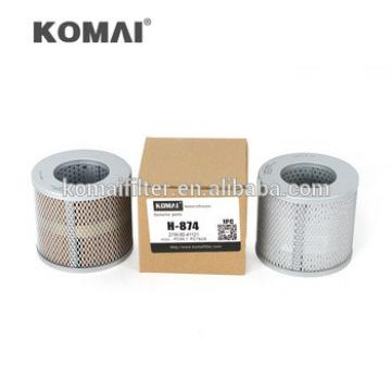 High Efficiency Komai Manufacturer Hydralic Filter H-874 for PC56-7/PC60-8 21W-60-41121