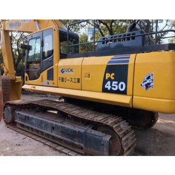Fuel-efficient Komatsu Machine PC450 Excavator for sale , Used Komatsu Excavator at low working hours