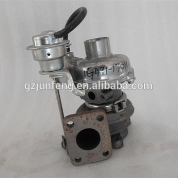 Auto Engine RHF3 turbo for Kubota Diesel Various Construction with 4D87/V2403-M-T-Z3B Engine Turbo charger VA410164 1G491-17011