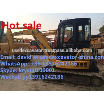 Used Komatsu PC55MR-2 Mini excavator, Koamtsu PC60, PC56, PC57 Mini excavators good engine and codition for sale