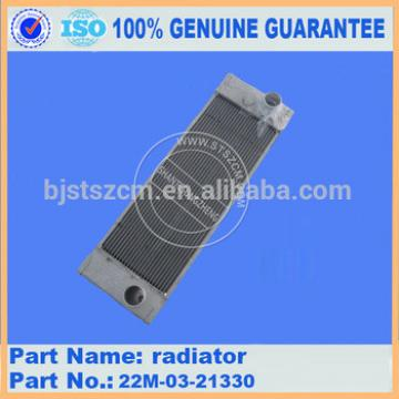 High quality radiator 21K-03-71114 on excavator PC160-7 made in China