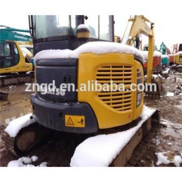 Used japan mini komat PC55MR-2 pc60 pc78us pc100pc110 pc160 pc120-6eo pc200 excavator used condition komatsuu PC55MR-2 excavator