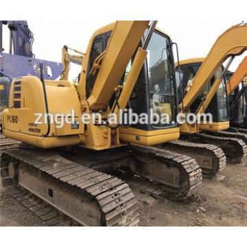 Crawler moving type komatsuu PC60-7 excavator used komats PC60-7 PC56 PC78US excavator