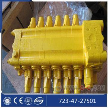 PC400-7 main control valve 723-47-27501 hydraulic control valve