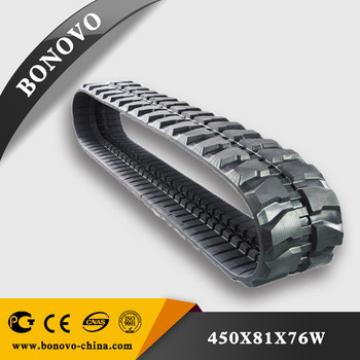 Rubber track PC60-6 PC60-7 PC60-8 PC70 for excavator apply all size