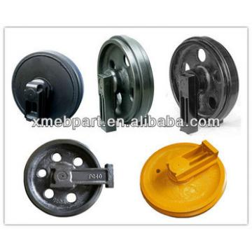 Front Idler for Excavator PC60,PC120,PC130,PC200,PC300,PC400