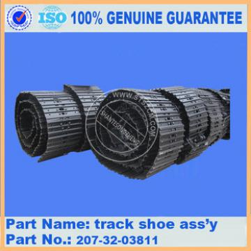Excavator PC360-7 under carriage parts track shoe ass'y 207-32-03831