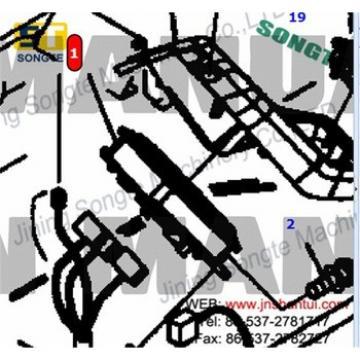 PC300-7 excavator monitor 7835-12-3005,excavator monitor