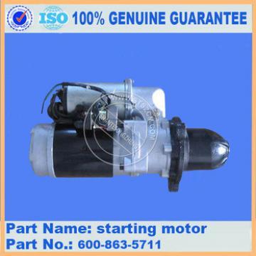 Excavator PC360-7 parts starting motor inner parts 600-863-5710