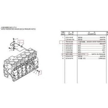 6742-01-5159 6742-01-1520 LINER KIT PC300-7 PC360-7 pc50mr-2 cylinder block 708-7R-13130