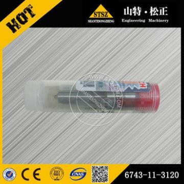 PC360-7/PC300-7 engine SAA6D114E fuel injector nozzle 6743-11-3120