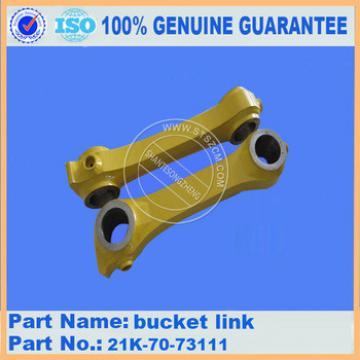 geunine parts PC160-7 excavator bucket link 21K-70-73111 made in China