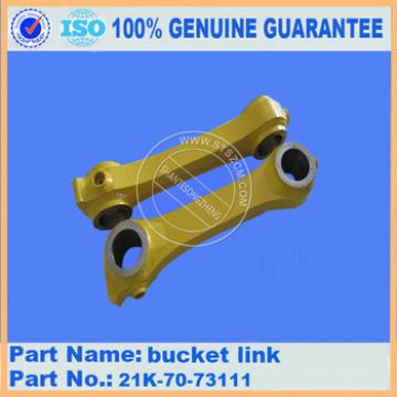 New digger parts PC160-7 bucket link 21K-70-73111 with high quality