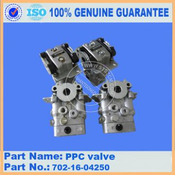 excavator spare parts,PC360-7 PPC valve 702-16-04250 stock available