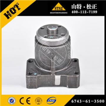 Original parts wholesale PC360-7 excavator fan drive pully 6743-61-3500 made in China