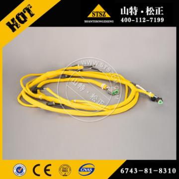 machinery construction equipment PC360-7 WIRING HARNESS 6743-81-8310