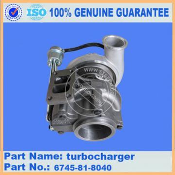 PC360-7 excavator parts 6743-81-8040 turbocharger engine parts
