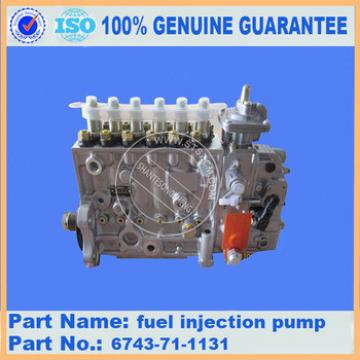 PC360-7 fuel injection pump 6743-71-1131 fuel injection pump assembly