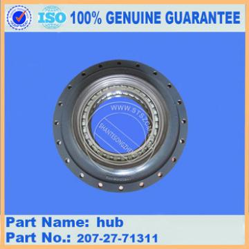 excavator undercarriage parts final drive hub 207-27-71311 for PC200-7 PC200-8 PC300-7 PC300-8 PC360-7 PC360-8