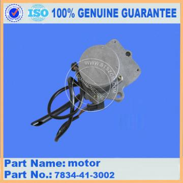 Excavator PC360-7 motor 7834-41-3002 engine related parts