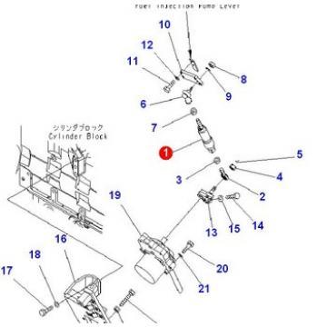 PC360-7 fuel control spring 207-43-74120 207-43-74121