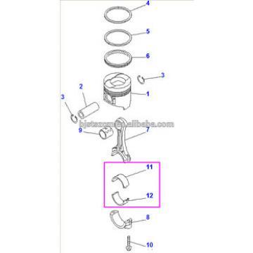 6742-01-2750 metal assy PC360-7 engine bearing price