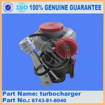 Turbocharger for excavator PC360-7 turbocharger 6743-81-8040 turbocharger prices