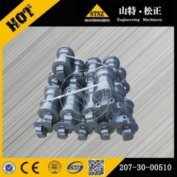 PC300-7 PC360-7 track roller 207-30-00510 genuine excavator parts