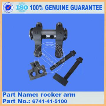 6741-41-5100 excavator engine parts PC300-7 rocker arm 6741-41-5100 excavator genuine spare parts