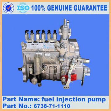 fuel injection pump 6738-71-1110 PC200-7 ,600-861-3111 excavator parts