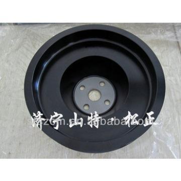 6743-61-3310 FAN DRIVE PULLEY pc200-7 belt excavator parts best price