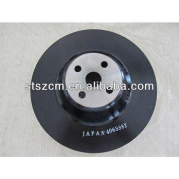 PC300-7/360-7 Fan pulley P/N:6743-61-3310 Excavator original parts Spare Parts