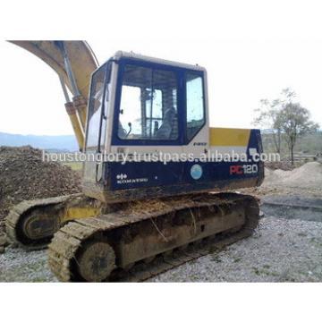 Used komatsu pc120-5 excavators, also pc128,pc130,pc200,pc220,pc240,pc360
