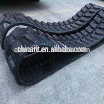 rubber tracks PC Mini excavator rubber tracks for undercarriage rubber track pad PC75 PC78 PC90 PC100 PC120 PC130